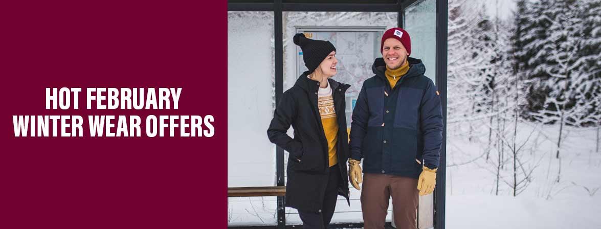 Hot February winter wear offers