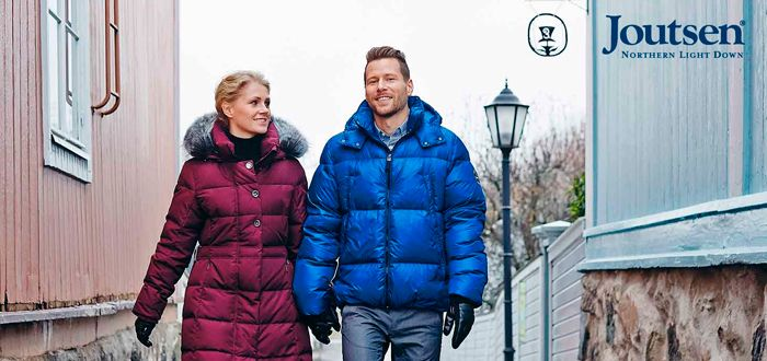 cf6c5a4ce Joutsen - top quality down coats made in Finland.