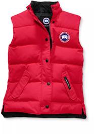 Canada Goose Freestyle Crew Vest Red