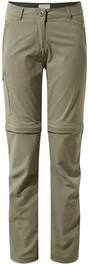 Craghoppers Nosilife Pro Ii Convertible Trousers Women Moss