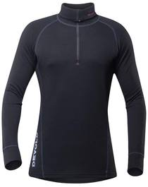 Devold Duo Active Zip Neck Men Black