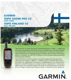 Garmin Topo Suomi Pro V2 Area 1 Scandinavian Outdoor