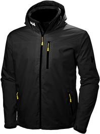 Helly Hansen Crew Midlayer Hooded Black