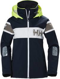 Helly Hansen Salt Flag Women'S Jacket Tummansininen