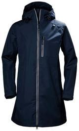 Helly Hansen Women'S Long Belfast Jacket Tummansininen