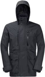 Jack Wolfskin Bridgeport Jacket Men Dark Grey