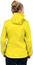 Jack Wolfskin Cloudburst Jacket Women Yellow