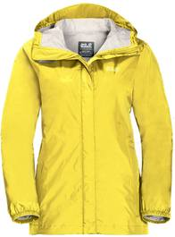 Jack Wolfskin Cloudburst Jacket Women Yellow