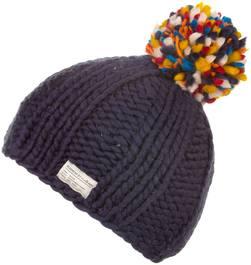 Kusan Multi Bobble Hat Navy