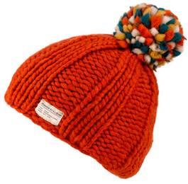 Kusan Multi Bobble Hat Oranssi
