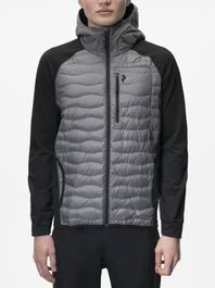 582790461 Peak Performance Men's Helium Hybrid Melange Hooded Jacket ...