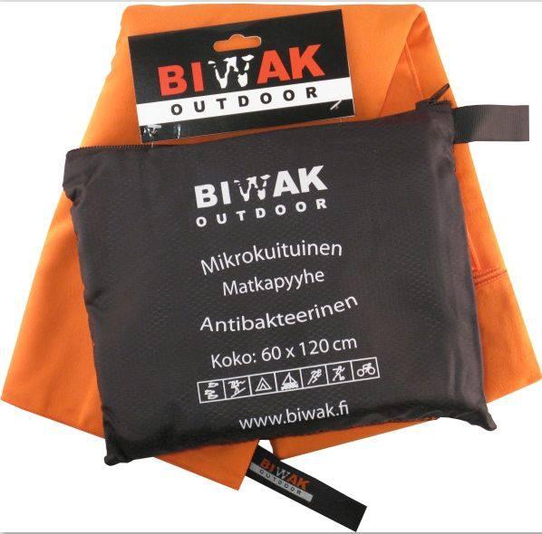 Biwak Biwak-Matkapyyhe 60 X 120 Cm Orange