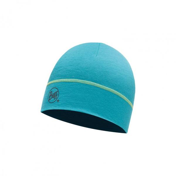 Buff Merino Hat Solid Viridian