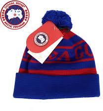 Canada Goose Knit-In Canada Goose Logo Toque Sininen