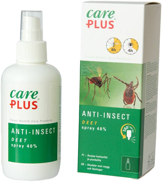 Care Plus Deet Spray Anti-Insect 200 Ml