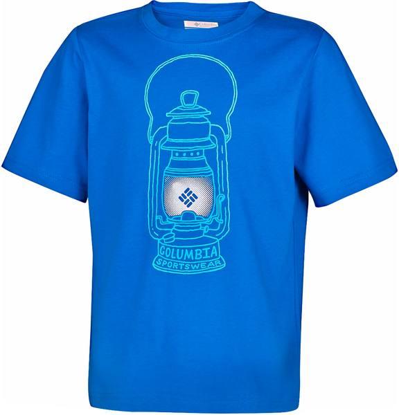 Columbia Camp Light B Tee Blue