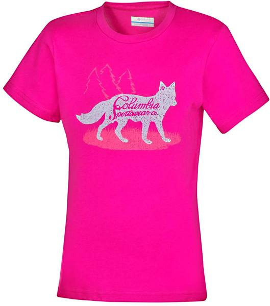Columbia Foxtrotter Graphic Tee Pink
