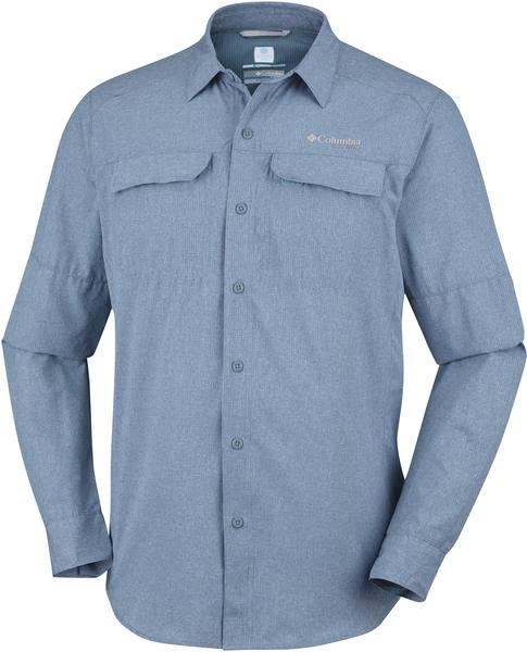 Columbia Irico Ls Shirt Tummansininen