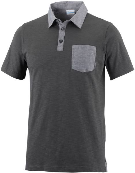 Columbia Lookout Point Novelty Polo Dark Grey