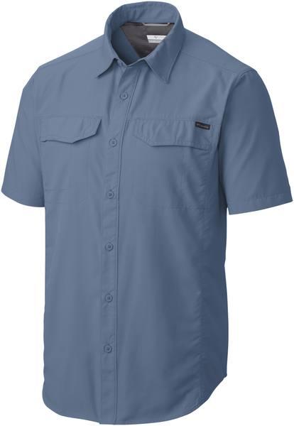 Columbia Silver Ridge Ss Shirt Steel Blue