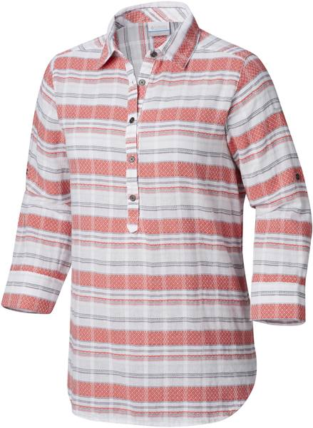 Columbia Summer Ease Women'S Popover Tunic Coral