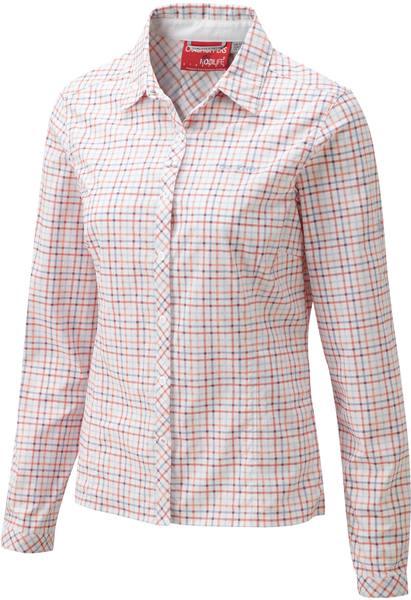 Craghoppers Nosilife Khahi Ls Shirt Pink
