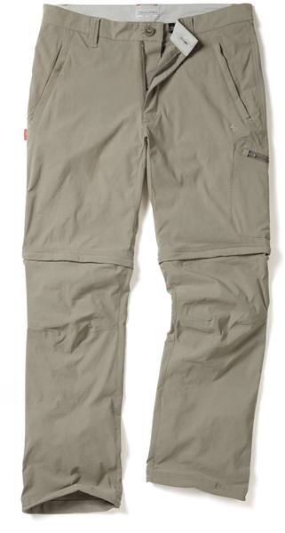 Craghoppers Nosilife Pro Convertible Trousers Men Beige