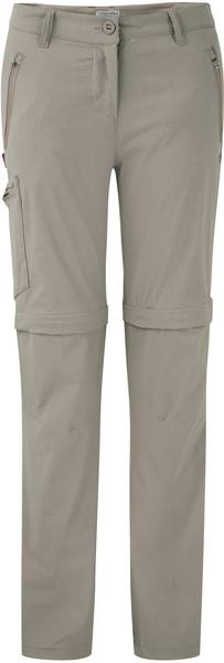Craghoppers Nosilife Pro Convertible Trousers Women Beige