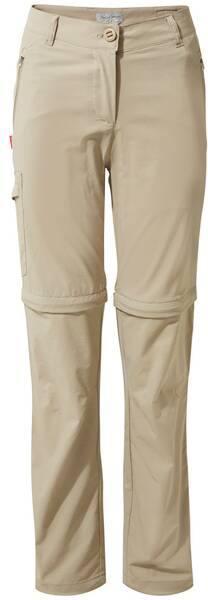 Craghoppers Nosilife Pro Ii Convertible Trousers Women Beige