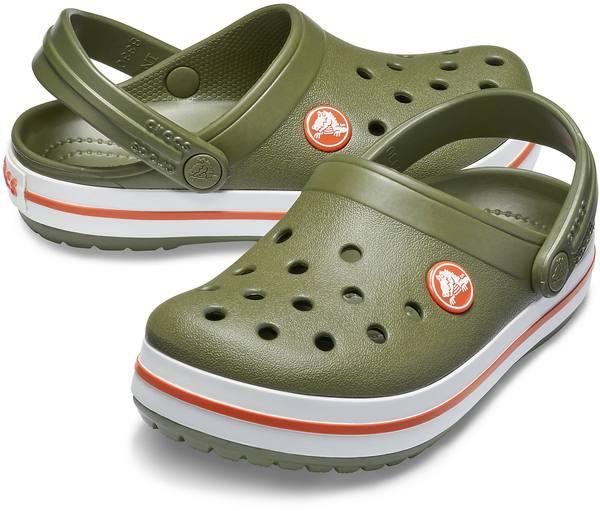 Crocs Crocband Clog Kid Army Green