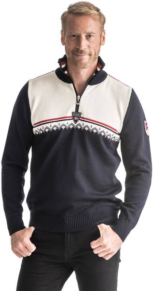 Dale Of Norway Lahti Men'S Sweater Navy/White