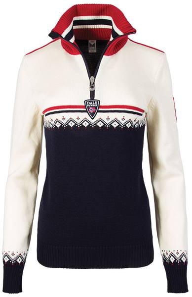 Dale Of Norway Lahti Women'S Sweater Navy/White
