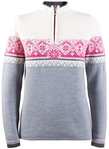 Dale Of Norway St. Moritz Women'S Sweater Grey/White