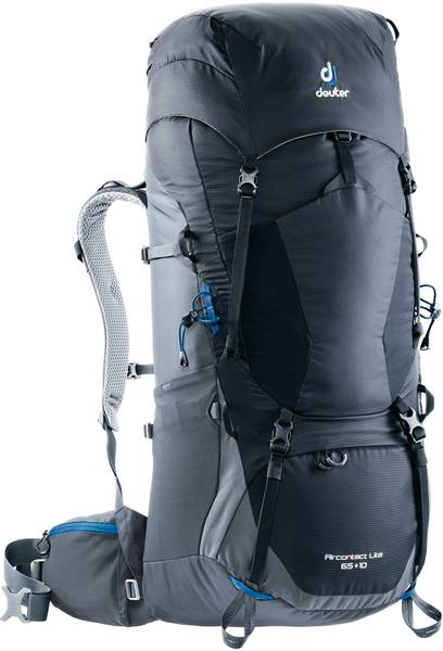 Deuter Aircontact Lite 65 +10 Black/Grey