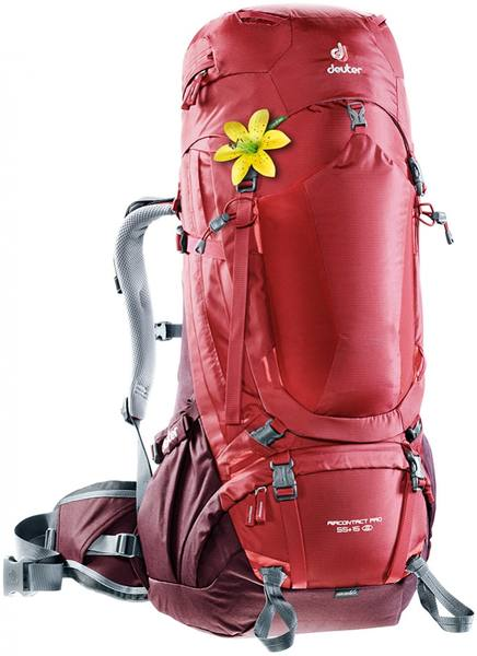 Deuter Aircontact Pro 55+15 Sl Dark Red