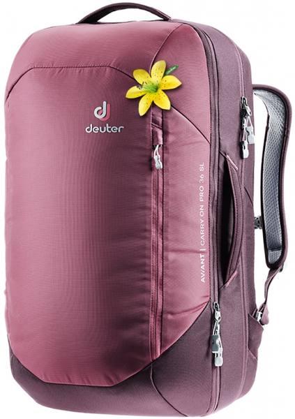 Deuter Aviant Carry On Pro 36Sl Tummanpunainen