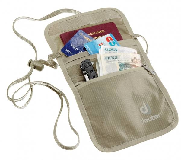 Deuter P Security Wallet Ii Sand