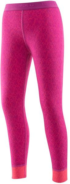 Devold Active Happy Heart Kid Long Johns Orchid