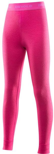 Devold Duo Active Junior Long Johns Pink
