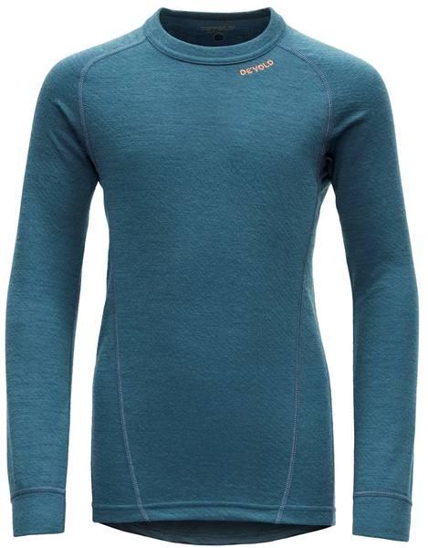 Devold Duo Active Junior Shirt Light Blue