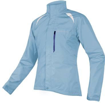 Endura Gridlock Ii Women'S Waterproof Jacket Light Blue