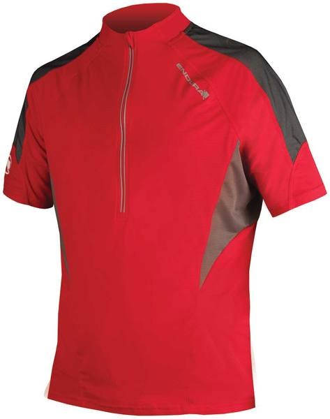 Endura Hummvee Ii Short Sleeve Jersey Red