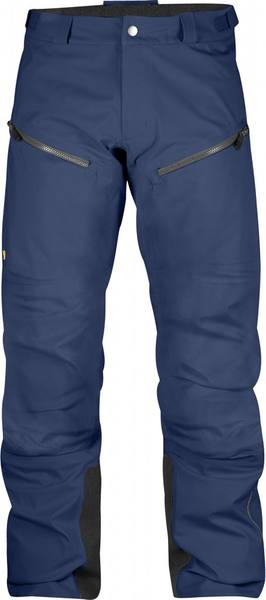 Fjällräven Bergtagen Eco-Shell Trousers Men'S Mountain Blue