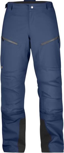 Fjällräven Bergtagen Eco-Shell Trousers Women'S Mountain Blue