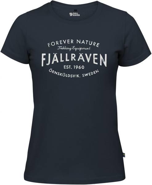 Fjällräven Est. 1960 T-Shirt Women'S Navy