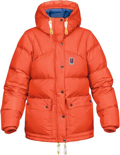 Fjällräven Expedition Down Lite Jacket Women Flame