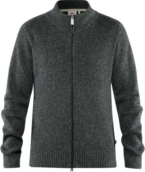 Fjällräven Greenland Re-Wool Cardigan Dark Grey