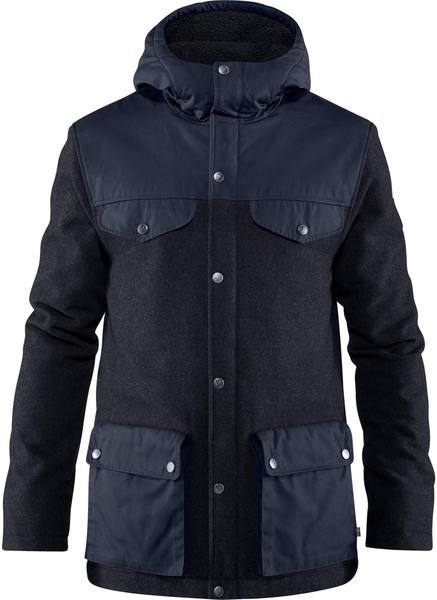 Fjällräven Greenland Re-Wool Jacket Night Blue