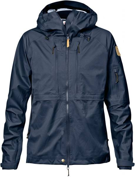 Fjällräven Keb Eco-Shell Women'S Jacket Dark Navy