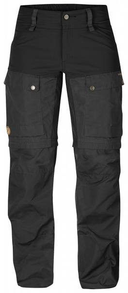 Fjällräven Keb Gaiter Women'S Trousers 2018 Black/Grey